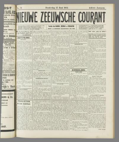 Nieuwe Zeeuwsche Courant 1912-06-27