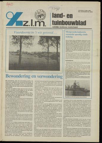 Zeeuwsch landbouwblad ... ZLM land- en tuinbouwblad 1982-06-04
