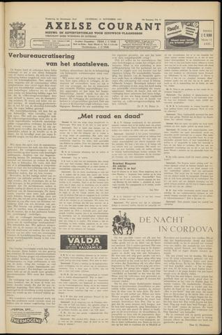 Axelsche Courant 1953-11-21