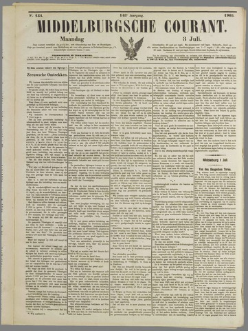 Middelburgsche Courant 1905-07-03