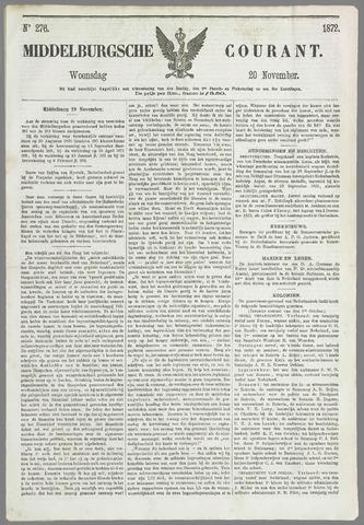 Middelburgsche Courant 1872-11-20