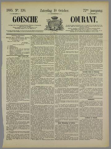 Goessche Courant 1885-10-10
