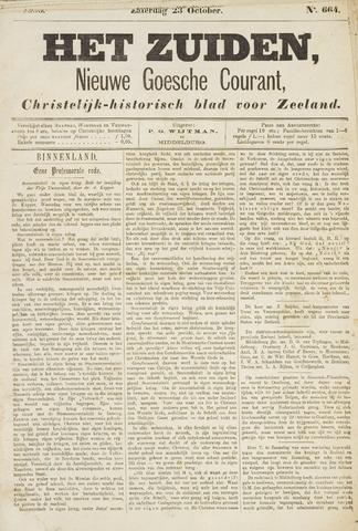 Het Zuiden, Christelijk-historisch blad 1880-10-23