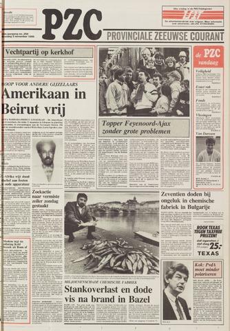 Provinciale Zeeuwse Courant 1986-11-03