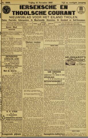 Ierseksche en Thoolsche Courant 1927-11-11