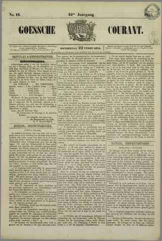 Goessche Courant 1855-02-22