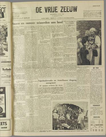 de Vrije Zeeuw 1961-07-13