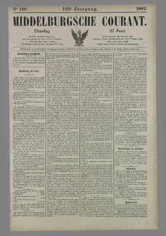 Middelburgsche Courant 1882-06-27