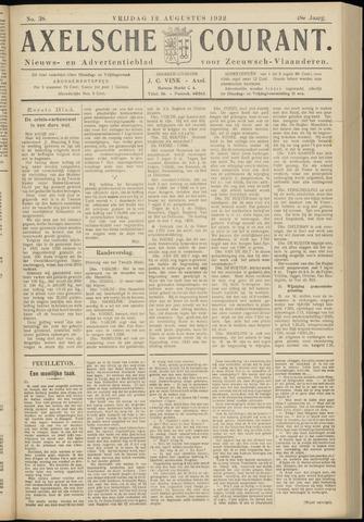 Axelsche Courant 1932-08-12