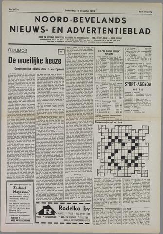 Noord-Bevelands Nieuws- en advertentieblad 1982-08-12