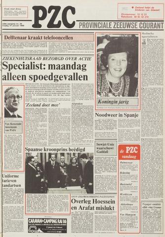 Provinciale Zeeuwse Courant 1986-01-31