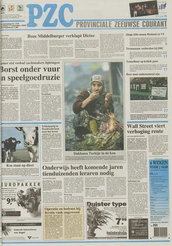 Provinciale Zeeuwse Courant 1999-11-17