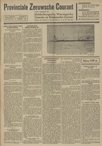 Provinciale Zeeuwse Courant 1941-01-13