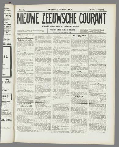 Nieuwe Zeeuwsche Courant 1908-03-19