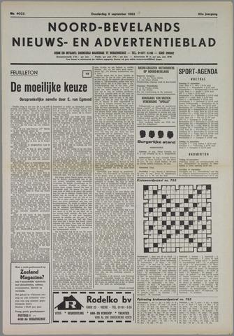 Noord-Bevelands Nieuws- en advertentieblad 1982-09-09