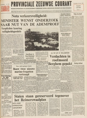 Provinciale Zeeuwse Courant 1967-09-14