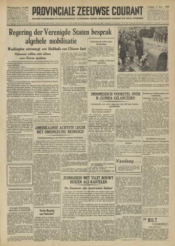 Provinciale Zeeuwse Courant 1950-12-08