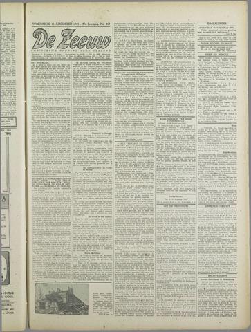 De Zeeuw. Christelijk-historisch nieuwsblad voor Zeeland 1943-08-11