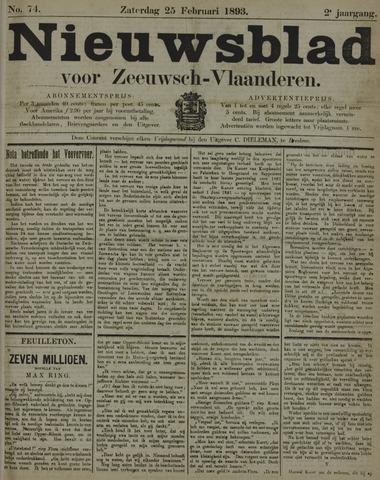 Nieuwsblad voor Zeeuwsch-Vlaanderen 1893-02-25