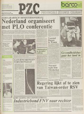 Provinciale Zeeuwse Courant 1980-11-14