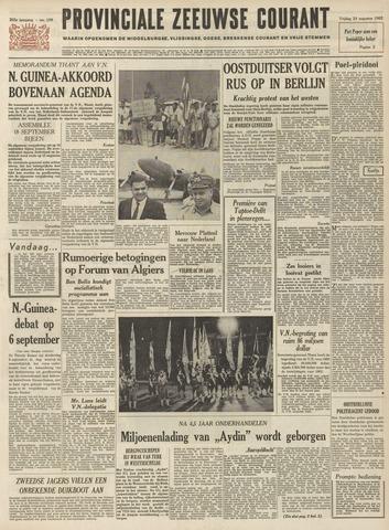 Provinciale Zeeuwse Courant 1962-08-24
