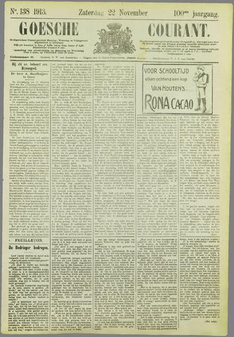 Goessche Courant 1913-11-22