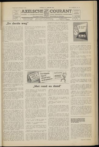 Axelsche Courant 1952-02-16