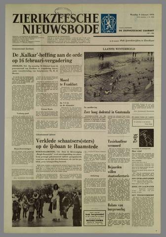 Zierikzeesche Nieuwsbode 1976-02-09