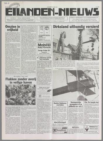 Eilanden-nieuws. Christelijk streekblad op gereformeerde grondslag 1995-05-04