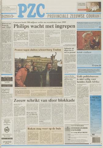 Provinciale Zeeuwse Courant 1997-02-14