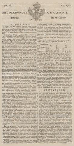 Middelburgsche Courant 1762-10-23