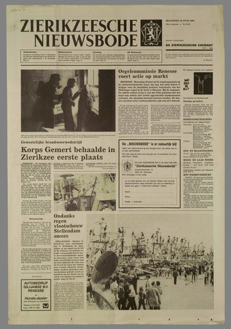 Zierikzeesche Nieuwsbode 1985-06-24