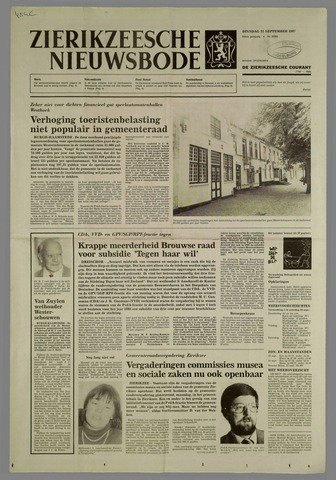 Zierikzeesche Nieuwsbode 1987-09-22