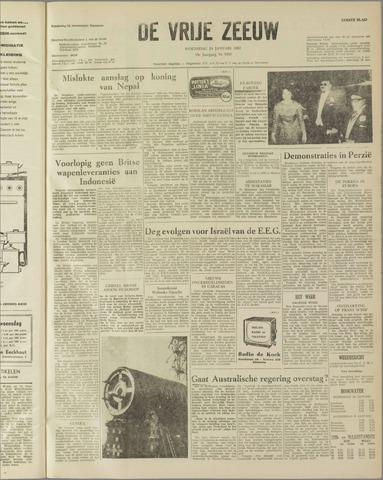 de Vrije Zeeuw 1962-01-24
