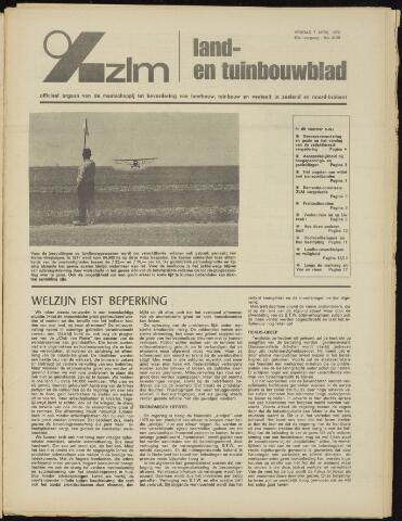 Zeeuwsch landbouwblad ... ZLM land- en tuinbouwblad 1972-04-07