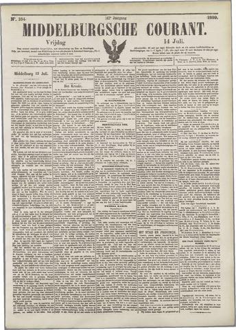 Middelburgsche Courant 1899-07-14