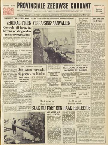 Provinciale Zeeuwse Courant 1963-07-20
