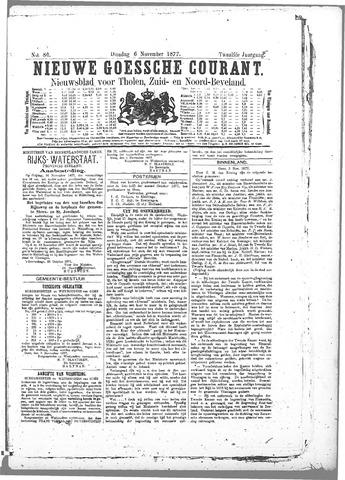 Nieuwe Goessche Courant 1877-11-06