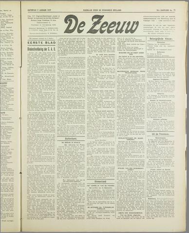 De Zeeuw. Christelijk-historisch nieuwsblad voor Zeeland 1937