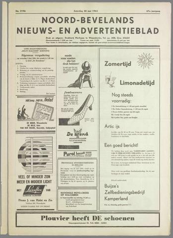 Noord-Bevelands Nieuws- en advertentieblad 1964-05-30