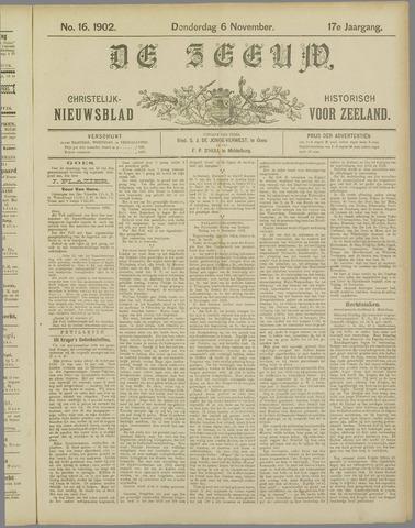 De Zeeuw. Christelijk-historisch nieuwsblad voor Zeeland 1902-11-06