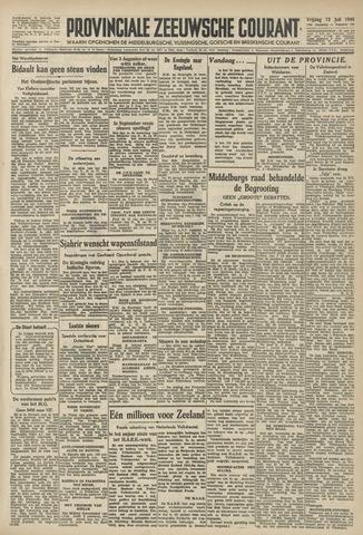 Provinciale Zeeuwse Courant 1946-07-12