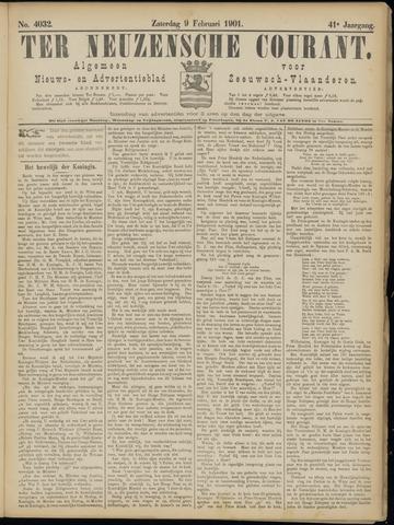 Ter Neuzensche Courant. Algemeen Nieuws- en Advertentieblad voor Zeeuwsch-Vlaanderen / Neuzensche Courant ... (idem) / (Algemeen) nieuws en advertentieblad voor Zeeuwsch-Vlaanderen 1901-02-09