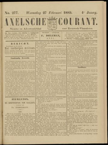 Axelsche Courant 1889-02-27