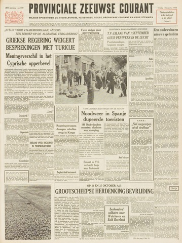 Provinciale Zeeuwse Courant 1964-08-14