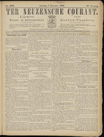 Ter Neuzensche Courant. Algemeen Nieuws- en Advertentieblad voor Zeeuwsch-Vlaanderen / Neuzensche Courant ... (idem) / (Algemeen) nieuws en advertentieblad voor Zeeuwsch-Vlaanderen 1900-12-08