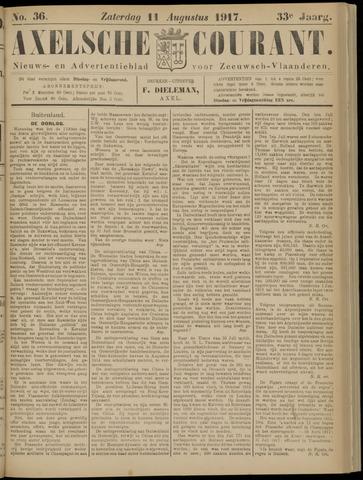 Axelsche Courant 1917-08-11