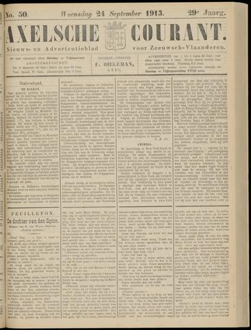 Axelsche Courant 1913-09-24