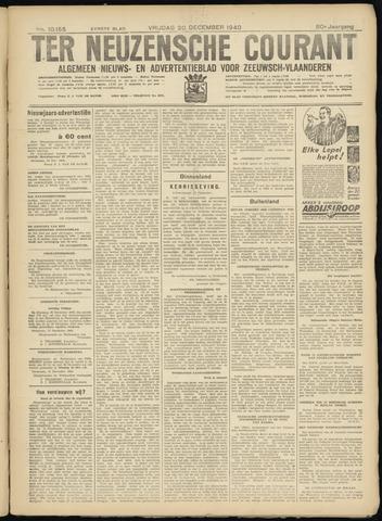 Ter Neuzensche Courant. Algemeen Nieuws- en Advertentieblad voor Zeeuwsch-Vlaanderen / Neuzensche Courant ... (idem) / (Algemeen) nieuws en advertentieblad voor Zeeuwsch-Vlaanderen 1940-12-20