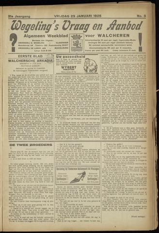 Zeeuwsch Nieuwsblad/Wegeling's Nieuwsblad 1925-01-23